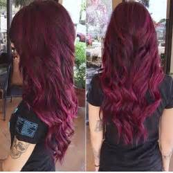 burgundy plum hair color plum hair color for fall brown hairs