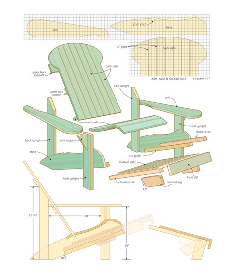 Adirondack Stool Plans by Wood Work Adirondack Chair Plans Canada Pdf Plans