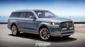 2018 lincoln navigator flagship suv might look like this   autoevolution