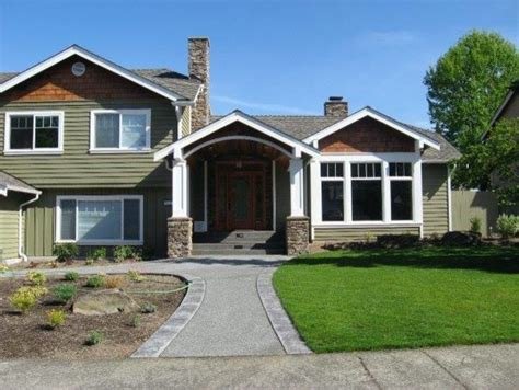 craftsman house remodel exterior remodel issaquah craftsman exterior seattle by illume design interiors and