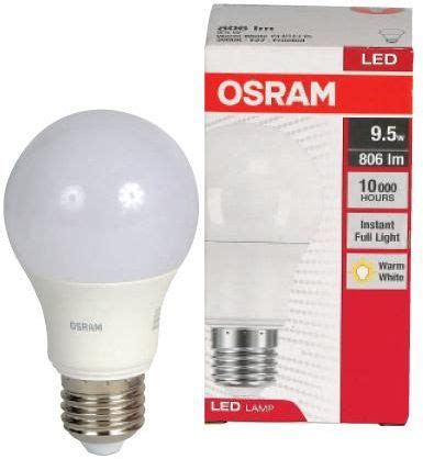 Osram Led Bulb 9 5w led classic a type 9 5w 60w e27 3000kl frosted 806lm