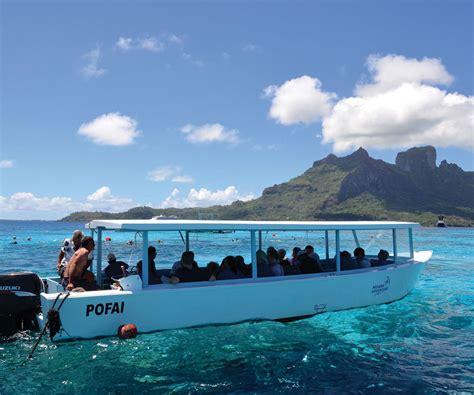 glass bottom boat bora bora glass bottom boat tour in bora bora lagoon most beautiful fish