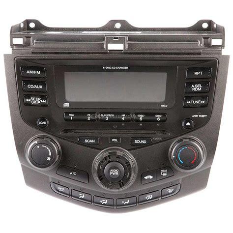 honda accord 2004 radio 2004 honda accord radio or cd player from car parts