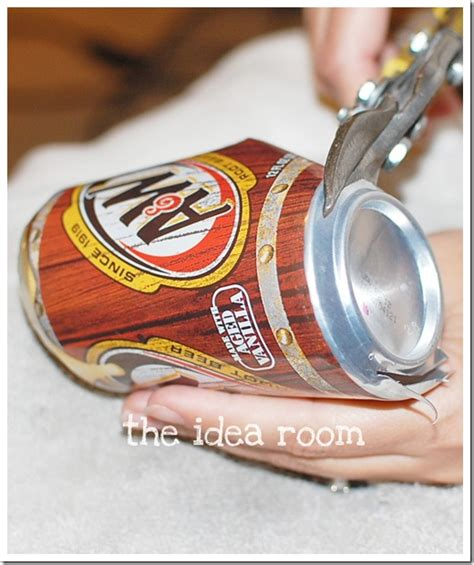 diy projects with soda cans diy soda can coasters the idea room