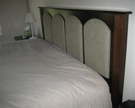 king size padded headboards amish peddler custom handcrafted amish furniture upholstered headboard on king size bed
