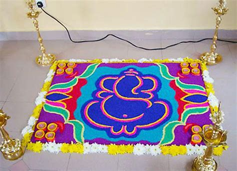 How To Decorate Home Mandir by Ganpati Decoration Ideas For Home The Royale