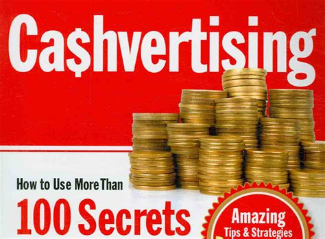 cashvertising how to use more than 100 secrets of ad autos post