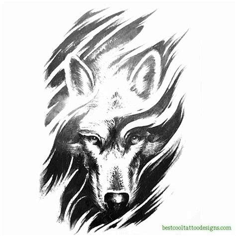 cool wolf tattoo designs wolf archives best cool designs