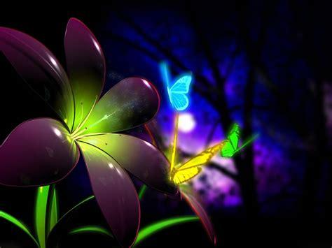 imagenes de mariposas abstractas mariposas multicolores fondos en 3d