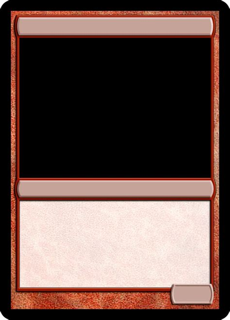mtg card frame template 16 best mtg templates images on mtg