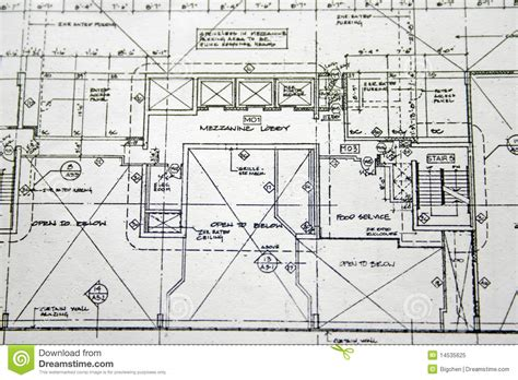 drawing plan floor plan drawing royalty free stock photo image 14535625