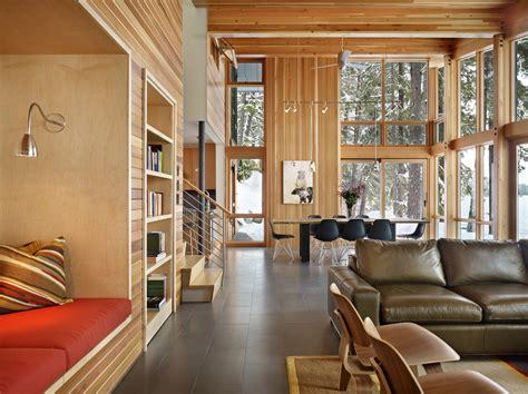 deforest architects galer 237 a de casa en el norte del lago wenatchee deforest