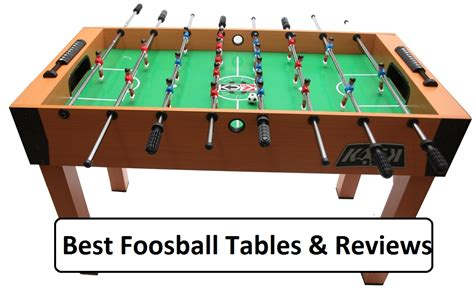 complete guide to best foosball table reviews 2016