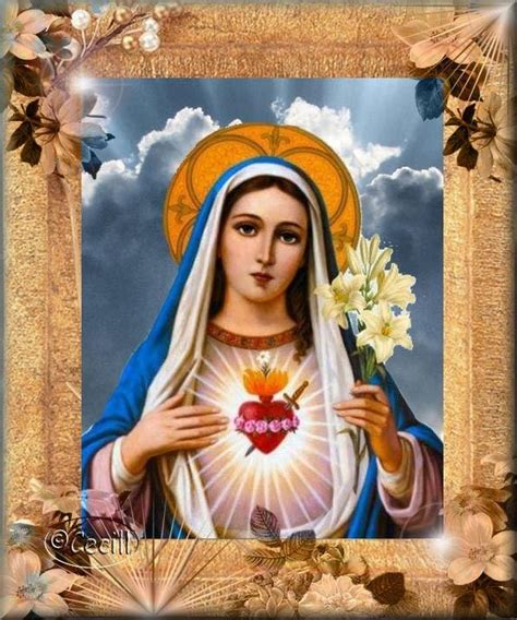 imagenes religiosas virgenes imagenes religiosas inmaculado coraz 243 n de mar 237 a ideas