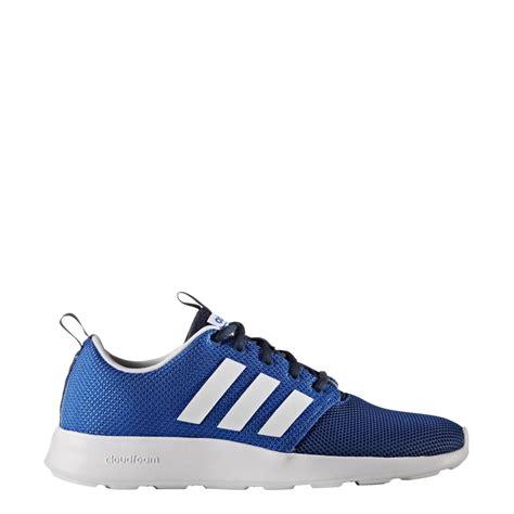 Adidas Couldfoam adidas s cloudfoam racer shoes blue