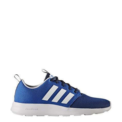 adidas cloudfoam adidas men s cloudfoam swift racer shoes blue