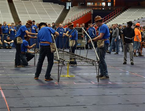 design competition of civil engineering ub teams compete in the upstate new york regional asce