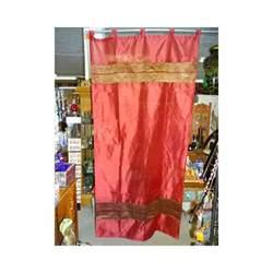 rideaux taffetas brocard bordeau meuble indien et