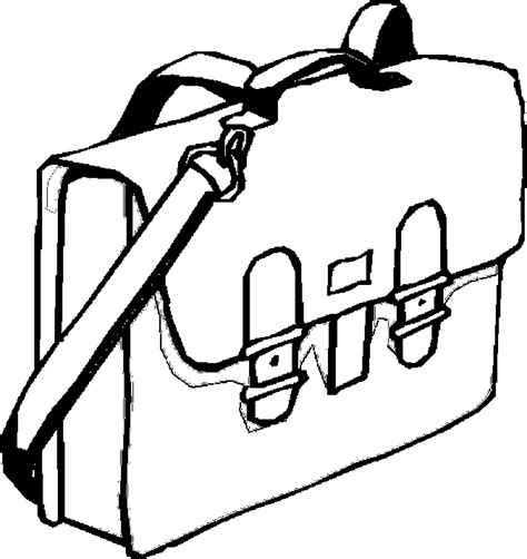 coloring page school bag book bag 14 free printable school supplies coloring pages