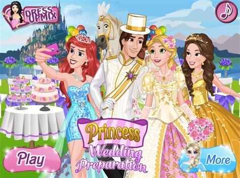 Wedding Preparation by Rapunzel Wedding Preparation Princess