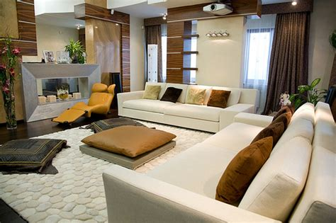 italian style living space decoration concepts modern sofas modern living room design wth fireplace
