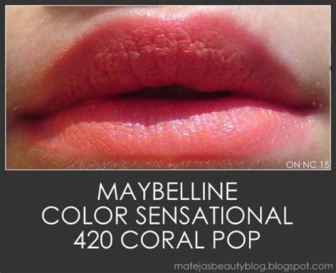 sensational videos maybelline color sensational coral pop reviews photos