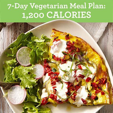 7 Day Detox Vegetarian Diet Plan by 7 Day Vegetarian Meal Plan 1 200 Calories Eatingwell