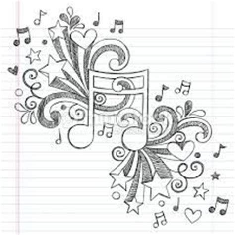 imagenes a lapiz musica 17 mejores ideas sobre dibujos de notas musicales en
