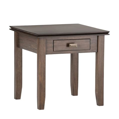 Unfinished Side Table International Concepts Unfinished End Table Ot 10 The Home Depot