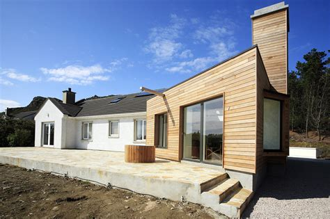 convert traditional home to modern drumnacraig extension macgabhann architects archdaily