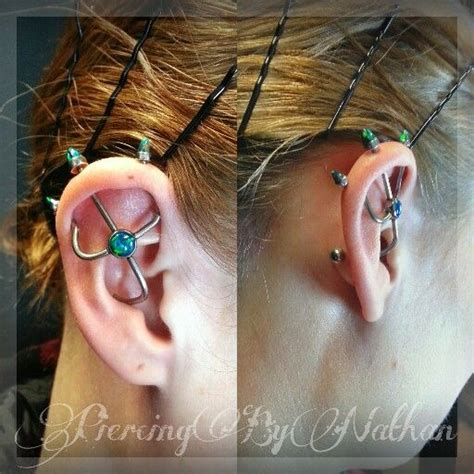 trident industrial piercing 82 best images about piercing jewelry on