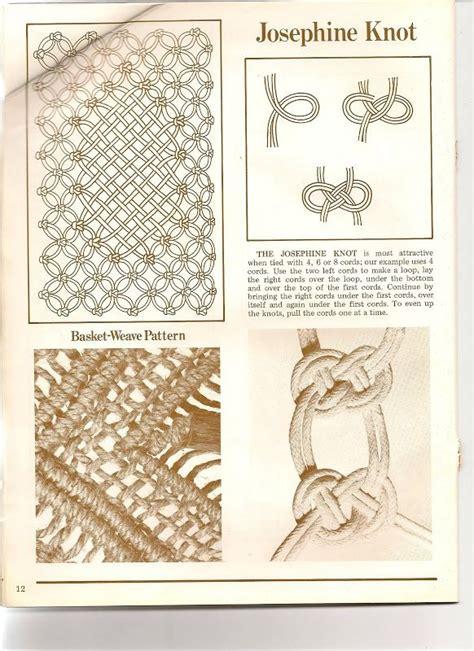 Macram Knots - 25 best ideas about macrame knots on macrame