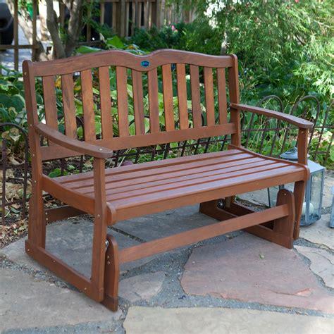 wooden glider bench outdoor manufacturing alpine 4 ft outdoor loveseat glider