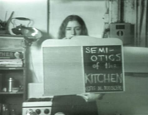 Martha Rosler Semiotics Of The Kitchen by Nature Martha Rosler Semiotics Of The Kitchen