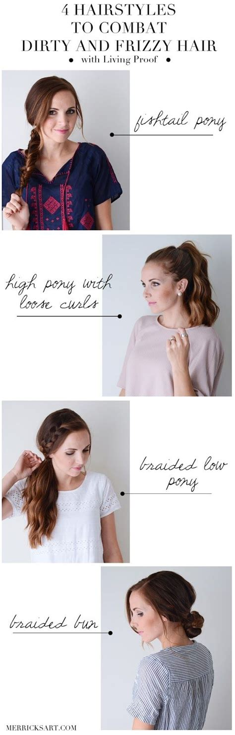 quick and easy hairstyles for unwashed hair best 25 cute everyday hairstyles ideas on pinterest