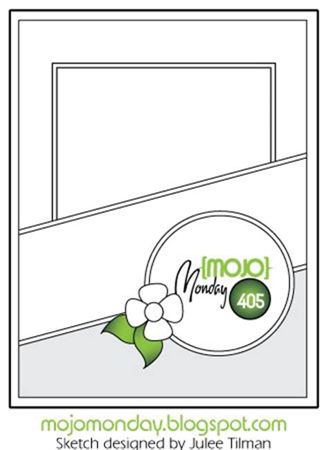 mojo template best 25 card sketches ideas on card templates