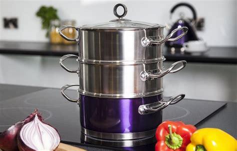 cucinare a vapore nel microonde pentole per la cottura a vapore idee green
