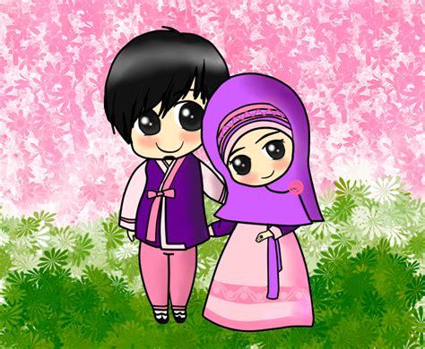 anime lucu muslim couple muslim anime pinterest muslim couples
