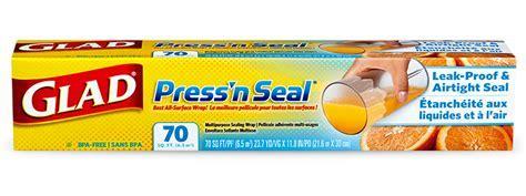 Cling Film: Press 'N' Seal®   Glad®