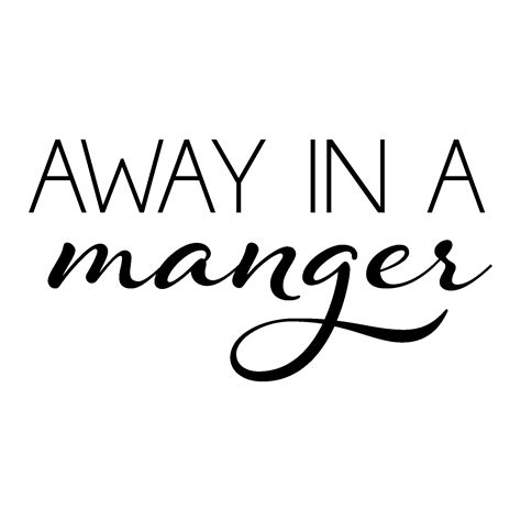 manger wall quotes decal wallquotescom