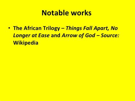 libro the african trilogy things things fall apart by chinua achebe