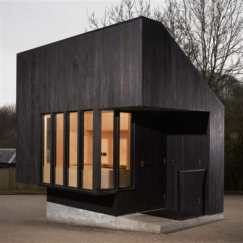 wood architecture blackened wood architecture dezeen
