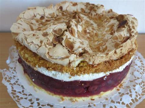 kirsch baiser kuchen kirsch baiser kuchen rosenmehl beliebte rezepte f 252 r