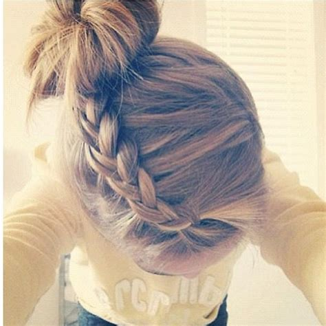 cute braided hairstyles going into a bun for black people braid into bun hairstyles how to