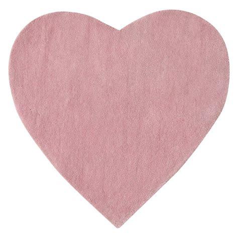 tappeto rosa tappeto rosa a pelo corto l 70 cm c蜥ur maisons du monde
