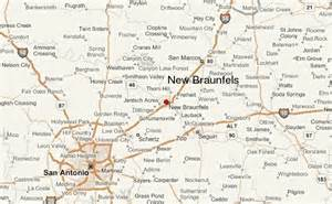 where is new braunfels map new braunfels location guide