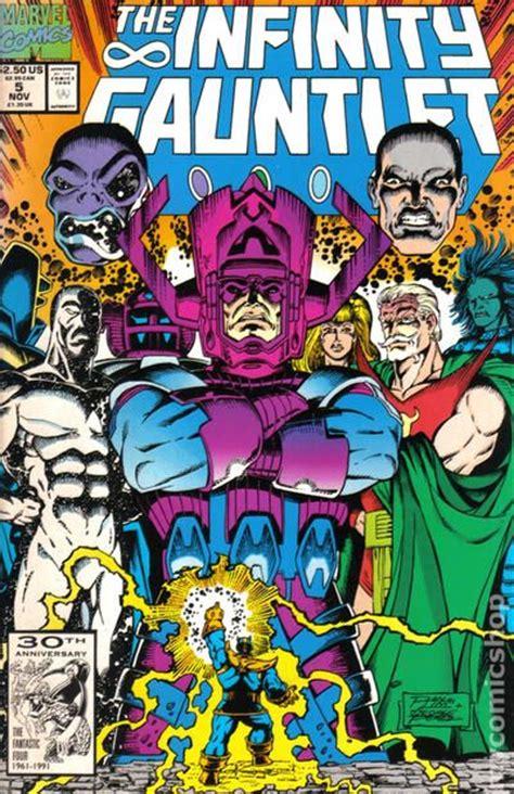 infinity gauntletic value infinity gauntlet comic books issue 5