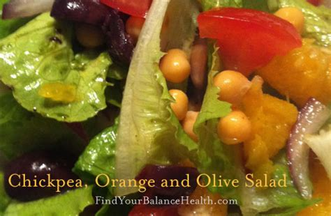 Olive Detox Recipe by Chickpea Orange And Olive Salad Detox Recipe 12 Of 21
