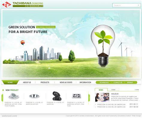 design inspiration corporate websites tachibaba corporate website design 21