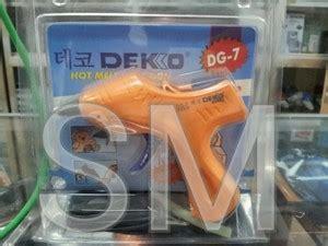 Best Seller Glue Gun Melt Lem Tembak Kecil 20 Watt jual tembak untuk lem batangan melt glue gun dekko dg 7 korea suara